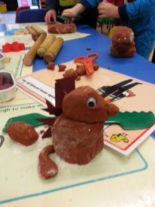 making gruffalo's